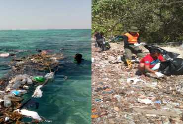 Bersatu Memerangi Sampah Di Pantai Dan Laut Karimunjawa