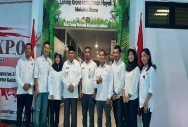 Lorong Kehati di Mini Expo Maluku Utara