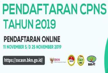 PENGADAAN CALON PNS KLHK TAHUN 2019