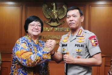 Menteri LHK dan Kapolri Tingkatkan Sinergi Penanganan Masalah Lingkungan Hidup