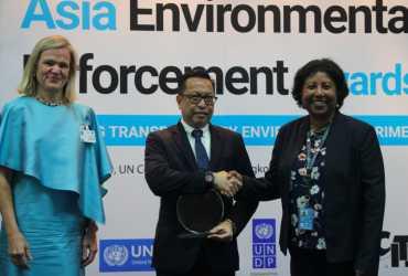 Gakkum KLHK Peroleh Penghargaan Asia Environmental Enforcement Awards 2019