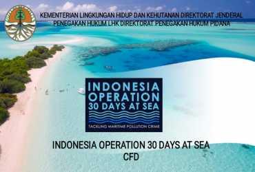 Berantas Kejahatan Pencemaran dan Kerusakan Laut, KLHK Luncurkan Operasi 30 Hari di Laut