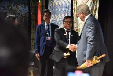 Di Paviliun Indonesia, AL Gore Puji Aksi Indonesia