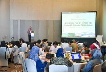 Update Komitmen Target Penurunan Emisi Indonesia