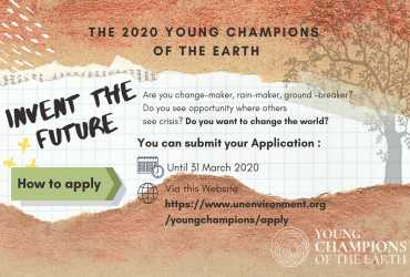 The 2020 Young Champions of The Earth