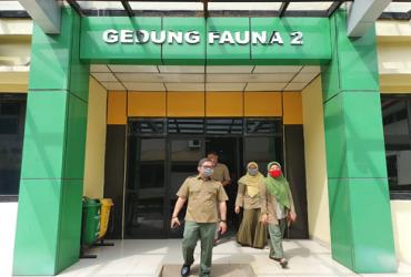 Kunjungi Kantor Kearsipan LHK, Alue Dohong Beri Arahan
