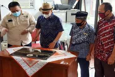 Dirjen KSDAE Resmikan Kantor Resort Konservasi Wilayah Kulon Progo