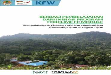 Buku Best Practices FORCLIME FC: Mengembangkan Ekonomi Lokal dan Keberlanjutan