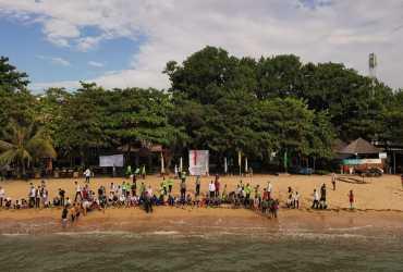 BKSDA Bali Lepasliarkan 500 Ekor Tukik Penyu di Pantai Sanur