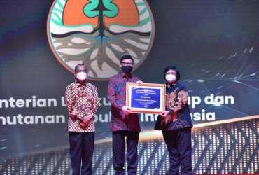 KLHK Raih Penghargaan Kelola Arsip dari ANRI