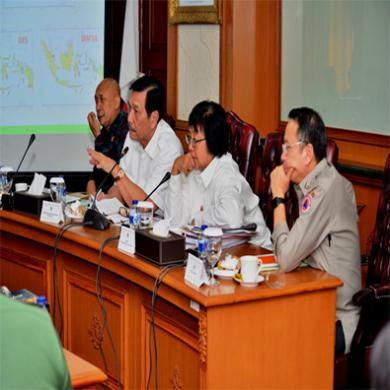 Rapat Koordinasi Nasional Penanganan Kebakaran Hutan dan Lahan